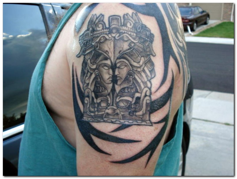 The Aztec left a powerful legacy with beautiful symbols. Aztec tattoos were