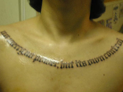 Collar bone tattoo ideas? I have several already. … ideas for a