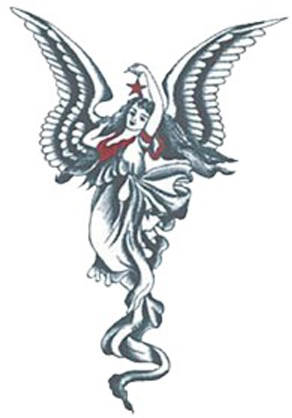 angels tattoo. Angel tattoo designs, angel