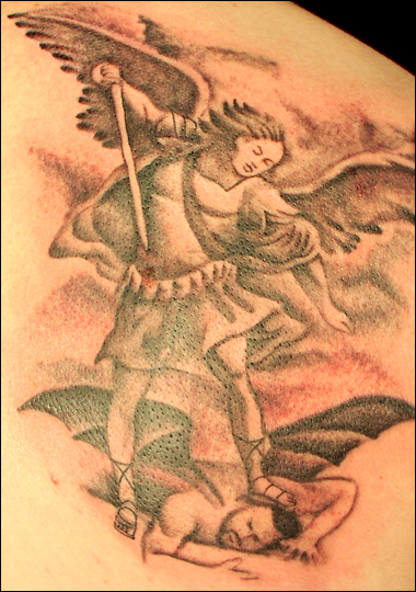 Published April 30, 2010 at 380 × 540 in angel and devil tattoos