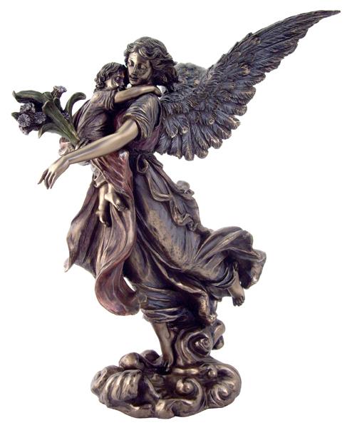 angel holding babies tattoos
