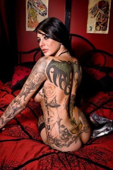 angel pin up girl tattoos