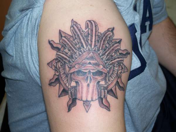 Aztec Tattoo Ideas The ancient Aztec Indians were well known for
