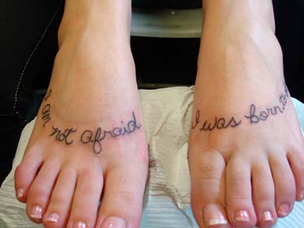Couple Tattoos. Many people have warned against