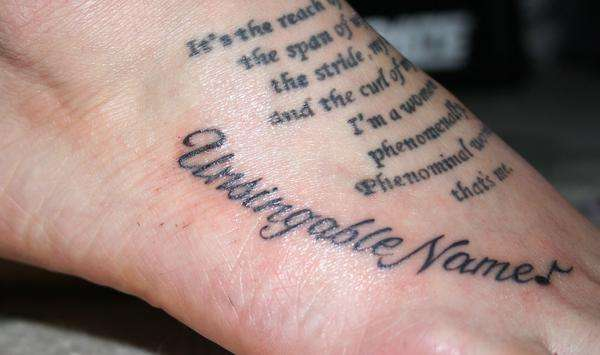 Foot Tattoos: 5 Things To Think About Before You Get A Foot Tattoo