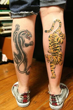 design panther tattoos