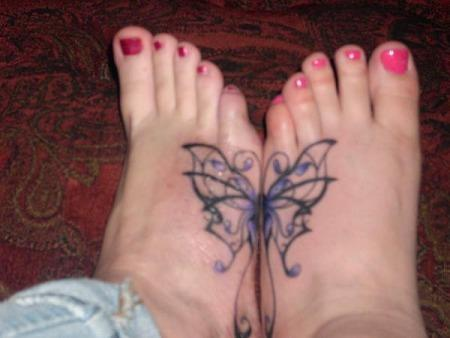 foot tattoos + pictures