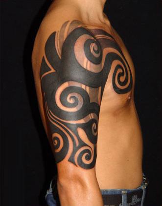 free tribal tattoo patterns foot tattoos design. Black Bedroom Furniture Sets. Home Design Ideas