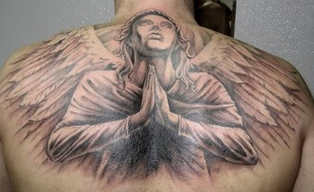 grey angel tattoos