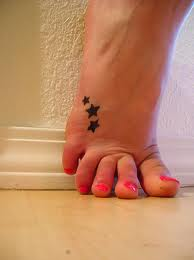 ideas for tattoos on foot