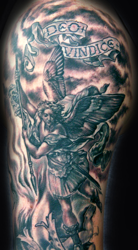 the ArchAngel Michael « { Black And Grey Tattoos …