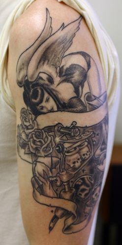 Fallen Angel Tattoo – Tattoos By Design