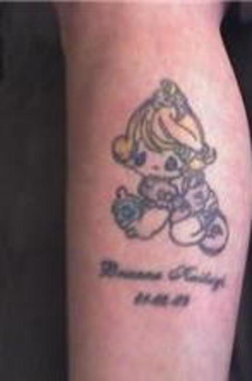 precious moments angel tattoos