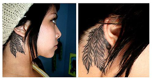 small tattoos ears