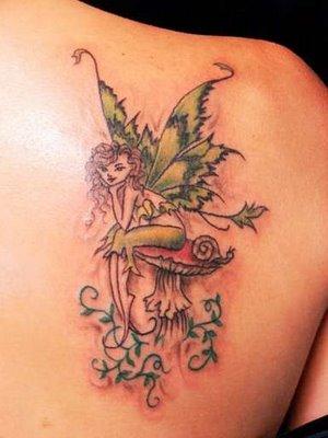 small tattoos of fairies