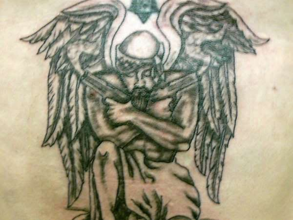 thug angel tattoo – Rate My Ink – Tattoo Pictures & Designs